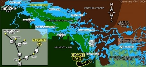 Area Maps Crane Lake Voyageurs National ParkVisit Crane Lake