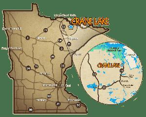 crane lake minnesota map Area Maps Crane Lake Voyageurs National Parkvisit Crane Lake crane lake minnesota map